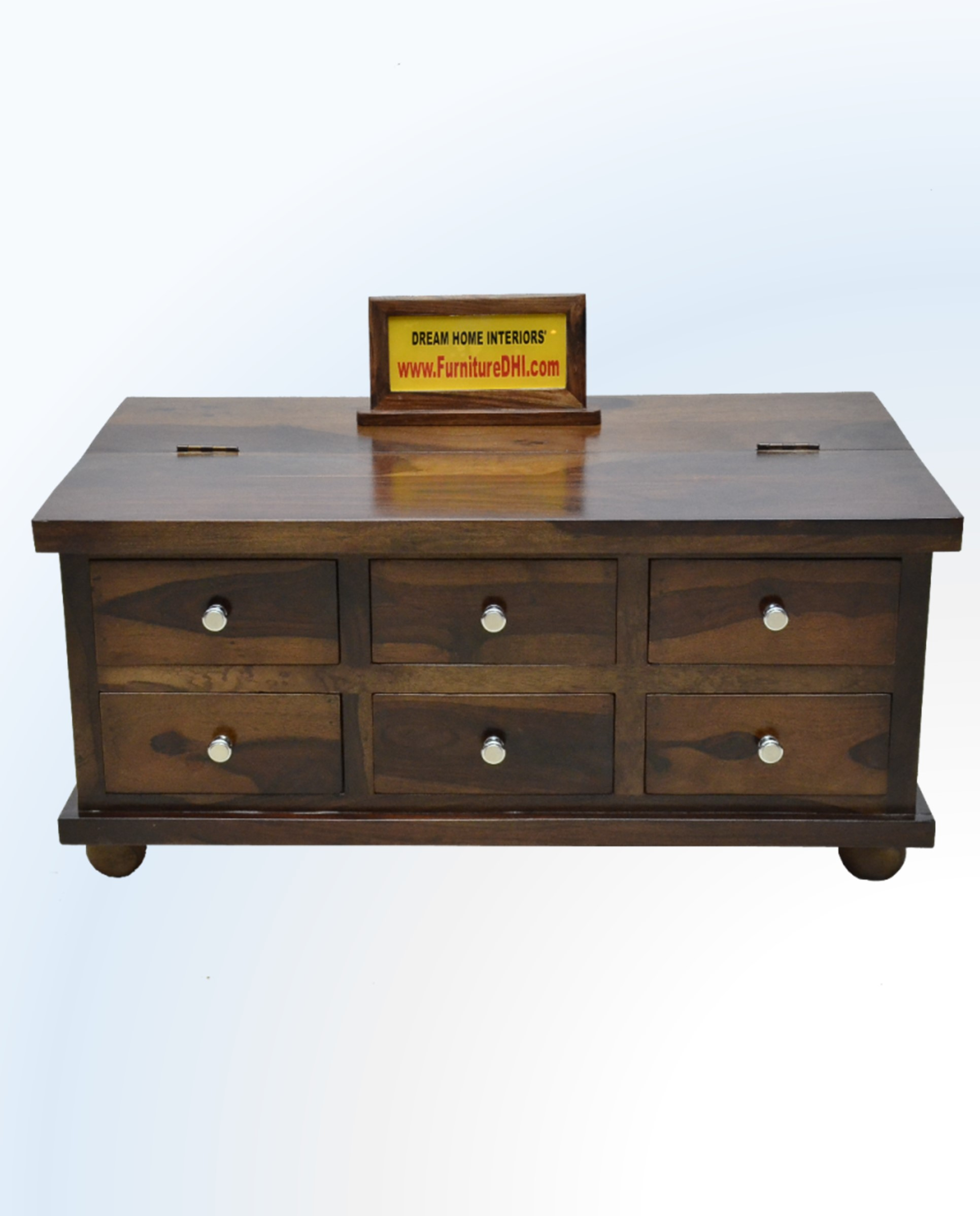 Solid Wood Coffee Table With